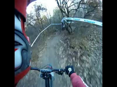 Scary Bicycle Downhill