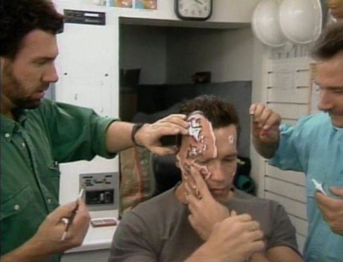 Behind the Scenes of the Famous Movies. Part 5 (50 pics)