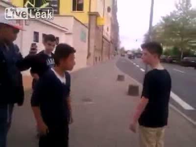 German School Kids Fight