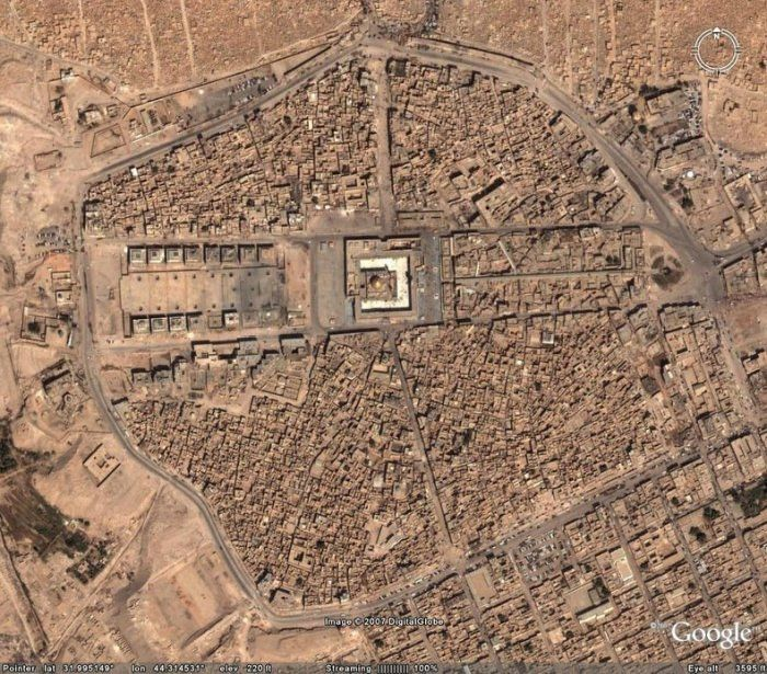 Wadi Al-Salaam is the Largest Cemetery in The World (13 pics)