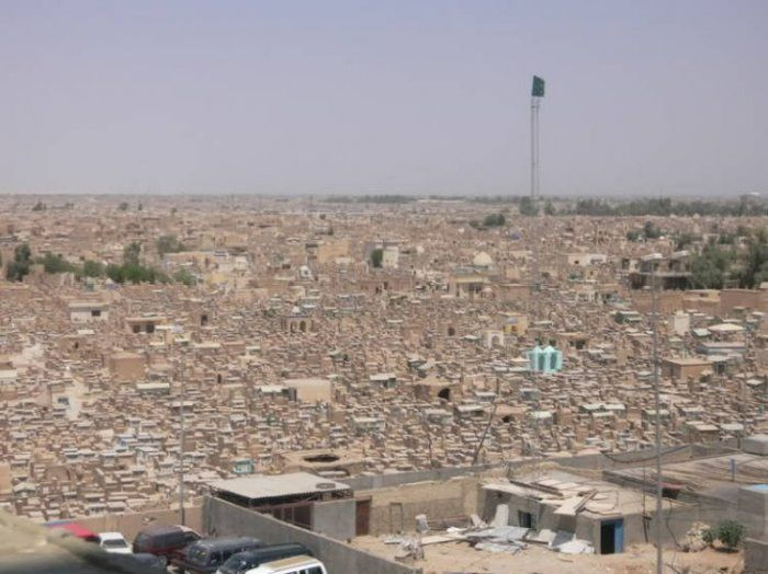 Wadi Al Salaam Is The Largest Cemetery In The World 13 Pics