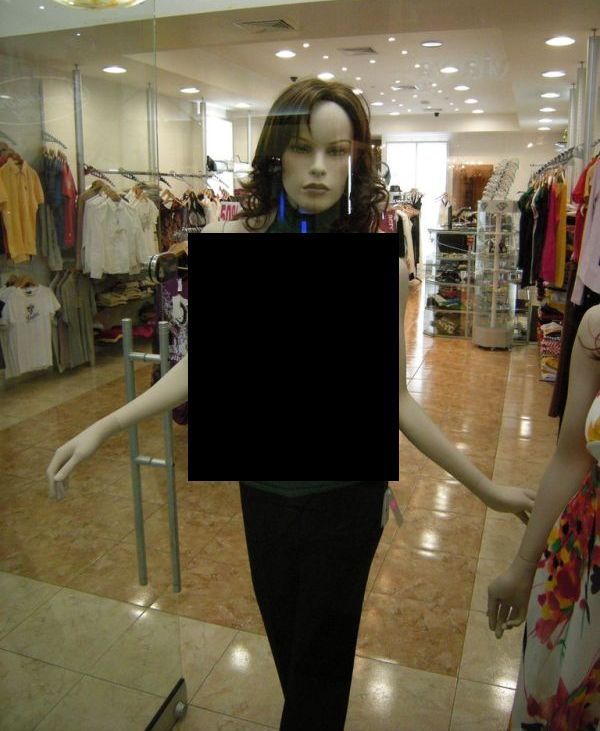 Mannequins in Panama City (3 pics)