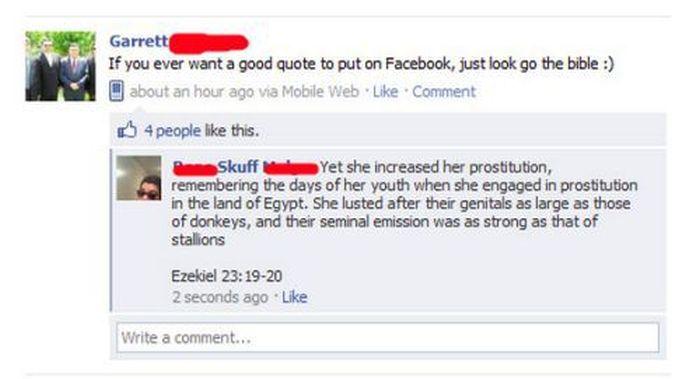 Facebook Fails and Wins. Part 4 (20 pics)