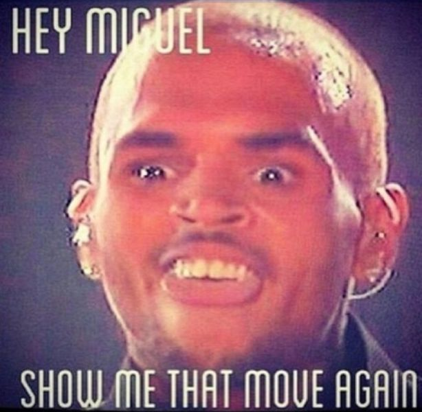 The Miguel Leg Drop Meme (19 pics + 1 video)