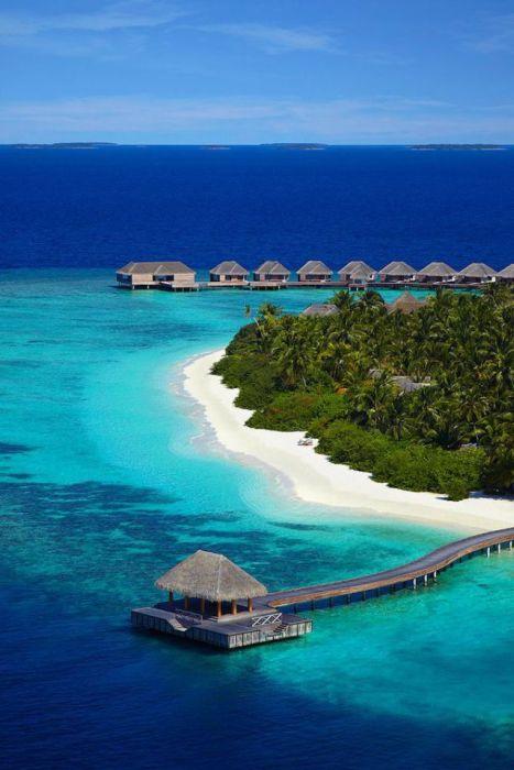 The Baa Atoll Island (36 pics)