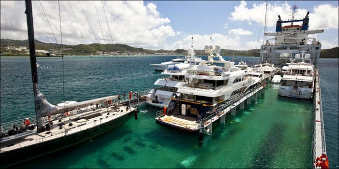 Yacht Migration from the Caribbean to the Mediterranean Sea (12 pics)