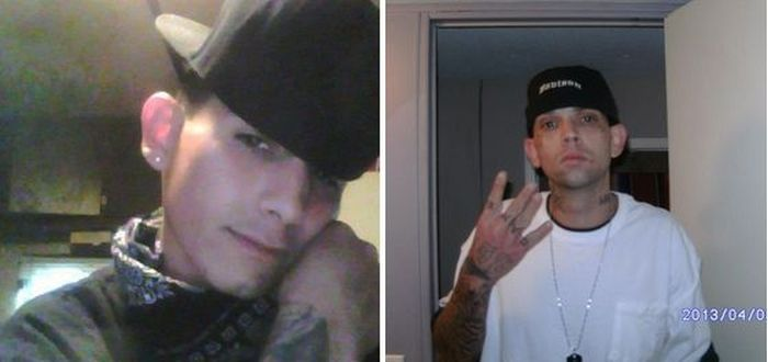 Crazy White Boys Gang Members Busted after Posts on Facebook (8 pics)