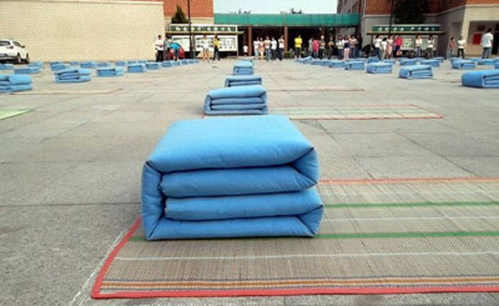 Test on How Quickly They Can Make a Bed (7 pics)