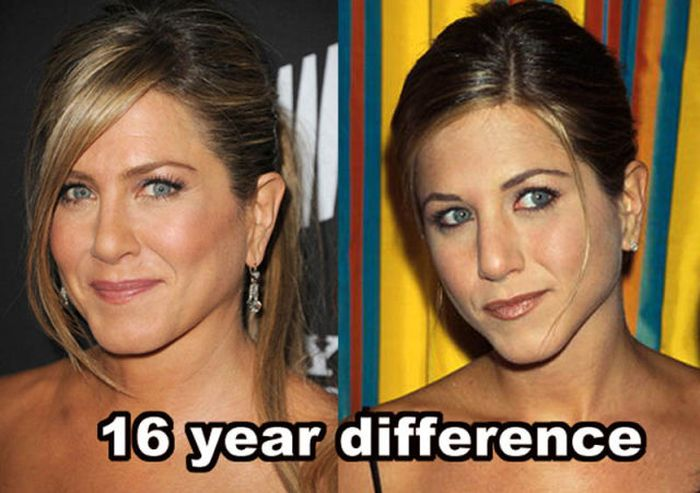 Celebrities Who Don't Age (14 pics)