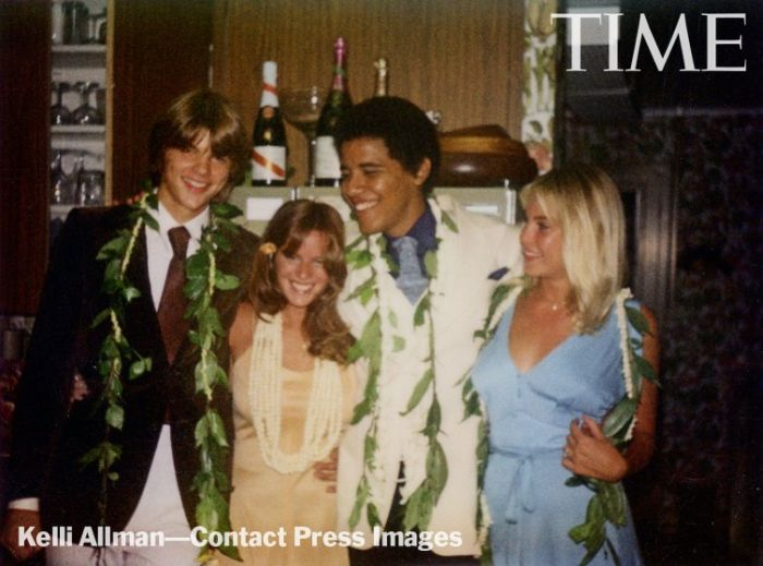 President Obama's 1979 Prom Photos (3 pics)