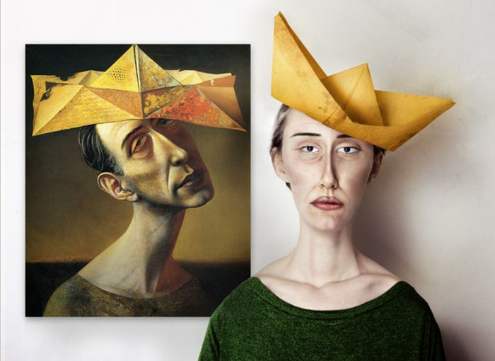 Classic Paintings in Real Life (5 pics)