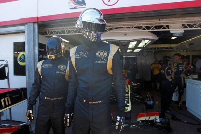Daft Punk at the Monaco Grand Prix (8 pics)