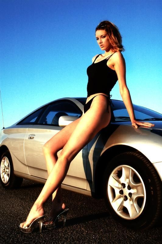 Girls and Cars. Part 5 (55 pics)
