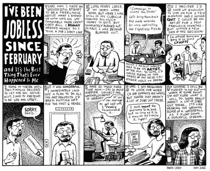 Comics About Job-Searching (20 pics)