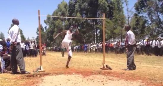 Amazing High School Jumpers in Kenya
