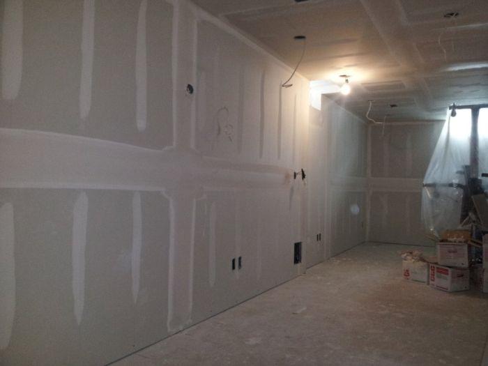 Basement Reconstruction Job (48 pics)