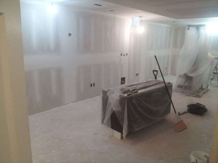 Basement Reconstruction Job (48 pics)