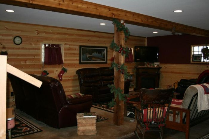 Barn Turned into a Cabin (29 pics)