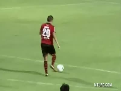 Weird Way to Celebrate a Great Goal