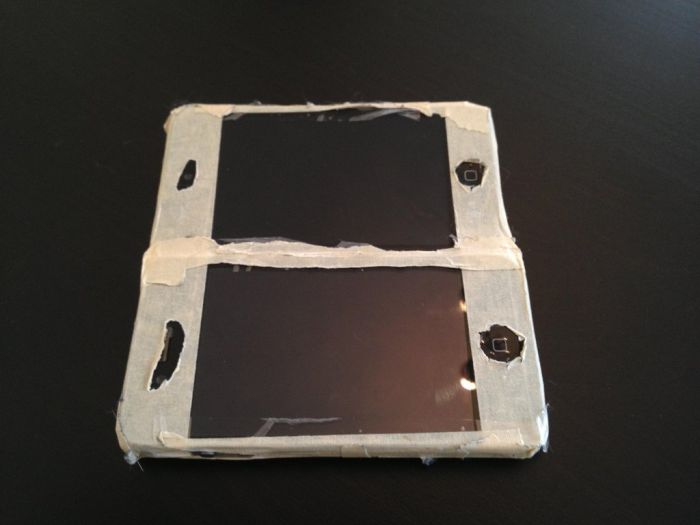 DIY Nintendo DS. Or Should We Call It iDS? (4 pics)
