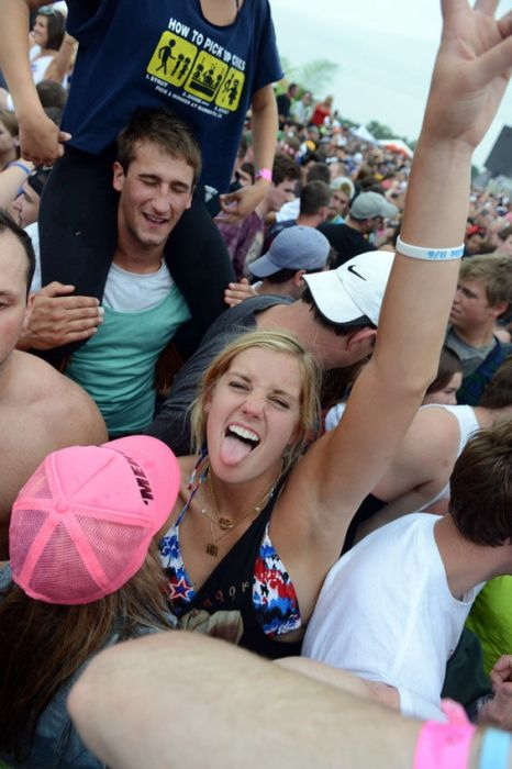 Hot Girls Indy 500's Infield Snakepit (50 pics)