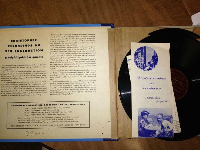 Vinyl Sex Instruction (5 pics)
