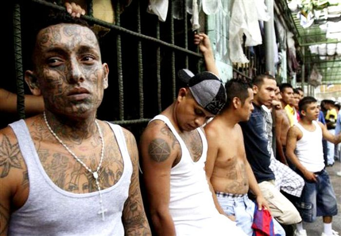 Gangs of El Salvador (20 pics + video)