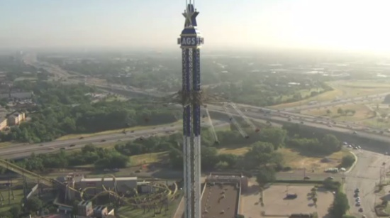 Awesome Skyscreamer Attraction