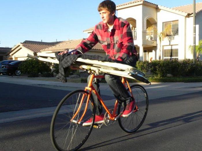 Boy Who Loves Extreme Ironing (21 pics)