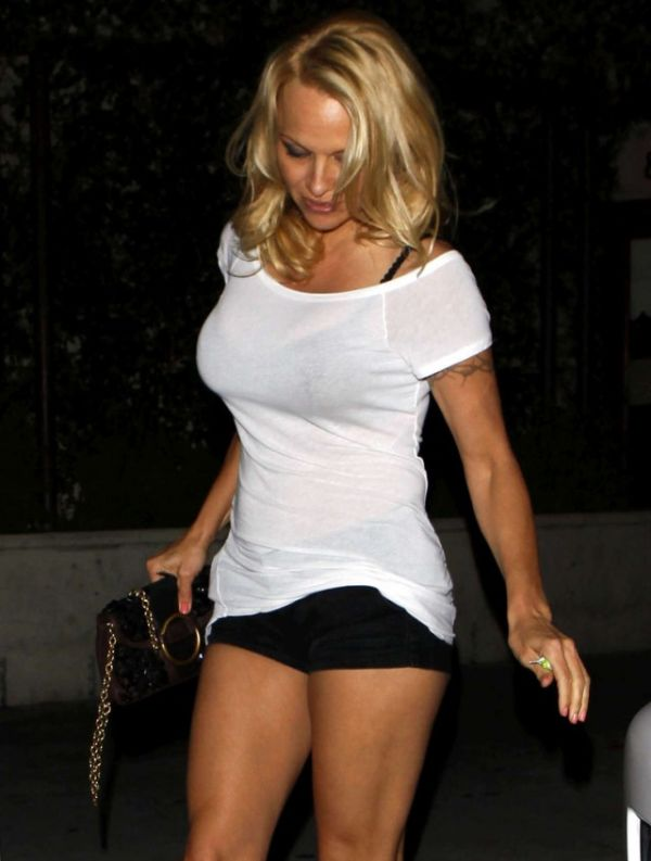 Pamela Anderson in LA (5 pics)