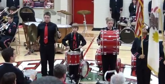 Awesome Cymbal Boy Fail and WIN