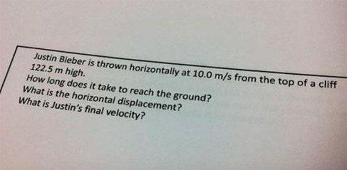 Funny Test Questions (17 pics)