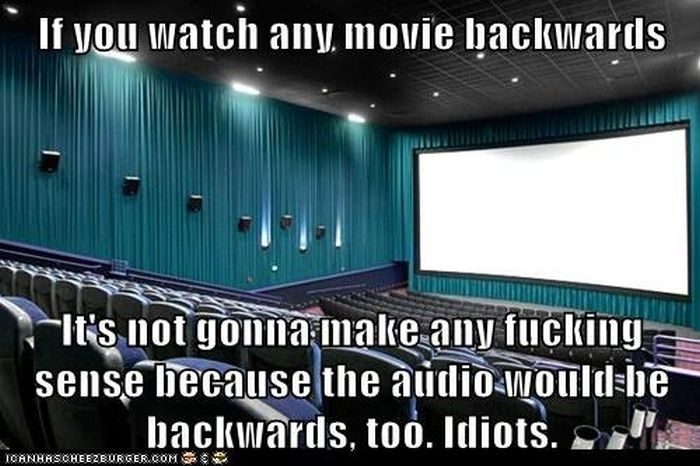 If You Watched the Movies Backwards (32 pics)