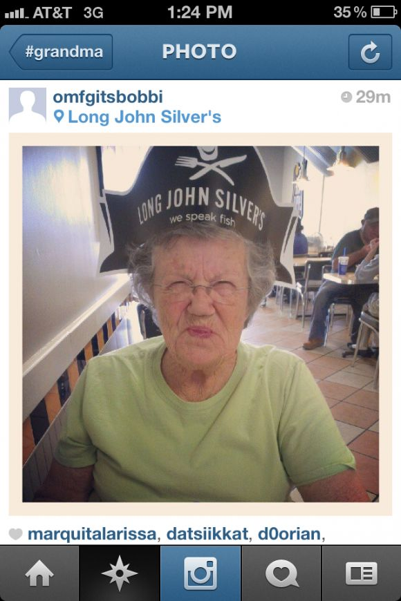Grandmas on Instagram (26 pics)