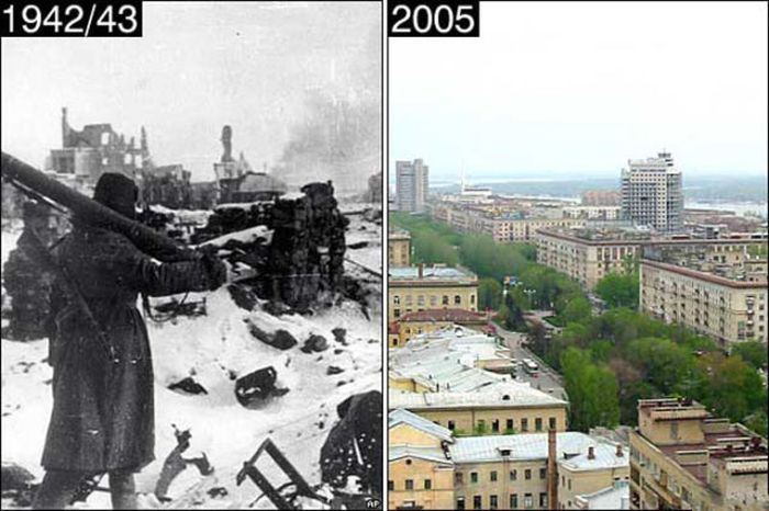 Then and Now Pictures (52 pics)