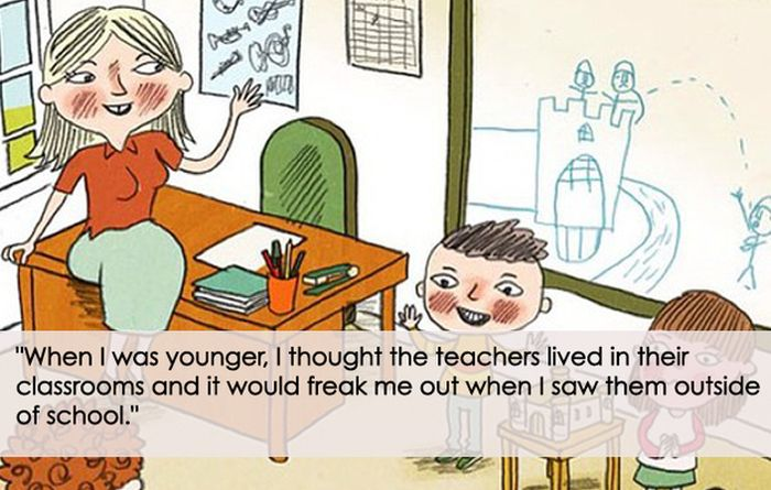 Ridiculous Things People Believed as Kids (17 pics)