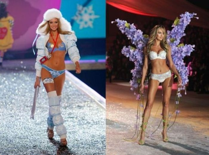Victoria's Secret Runway Angels Then and Now (17 pics)