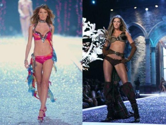 Victoria's Secret Runway Angels Then and Now (17 pics)