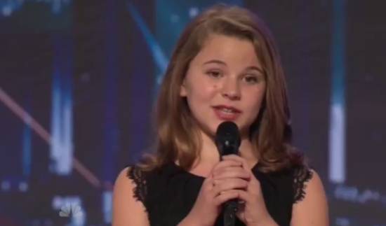 Anna Christine Surprised Everyone on Talent Show