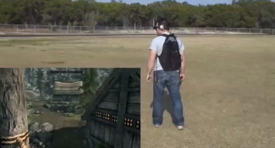 Amazing Skyrim Gameplay in Virtual Reality
