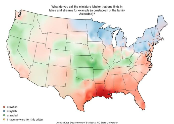 Map of American Accents (25 pics)