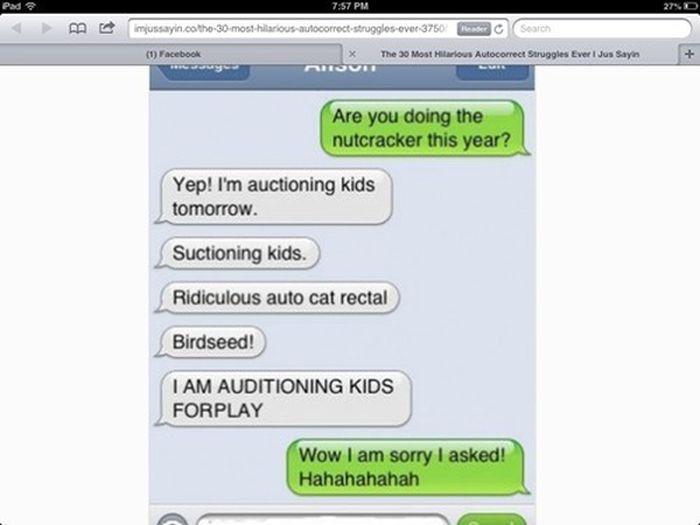 Autocorrects Fails. Part 8 (40 pics)