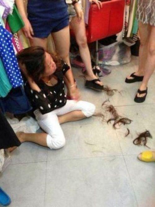 Shoplifter Haircut (3 pics)