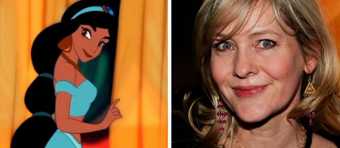 The Voices Of Disney Characters in Real Life (17 pics)