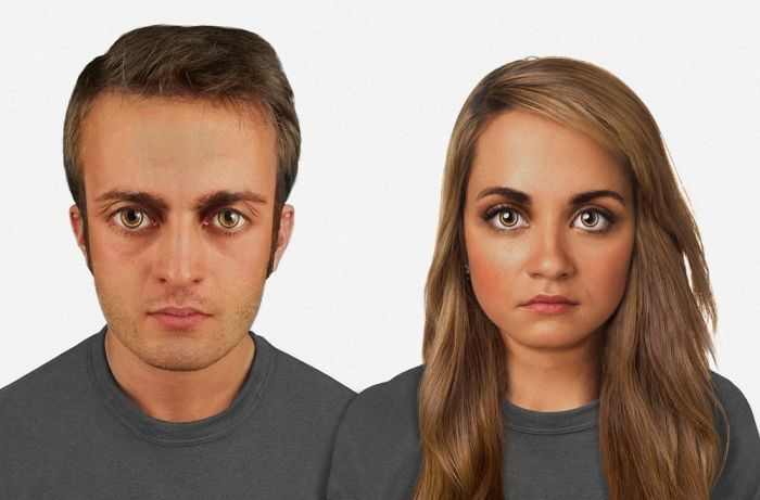 How the Humans Will Look Like in 100,000 Years (4 pics)