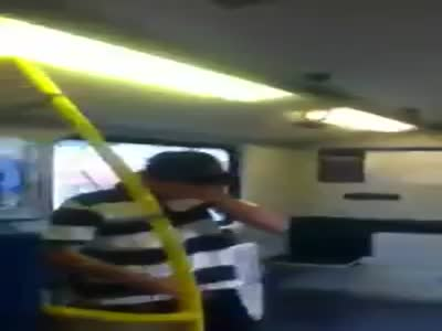 Graffiti Kids Caught in Subway