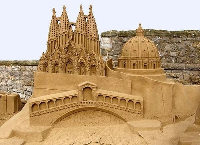 Beautiful Sand Art (26 pics)