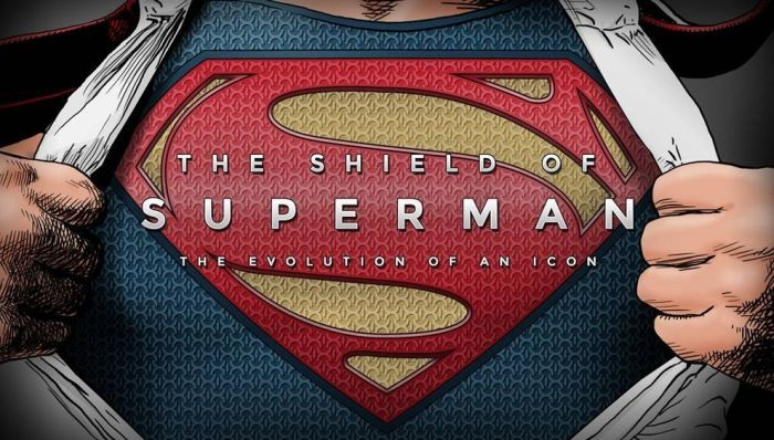 The Evolution of Superman's Symbol (infographic)