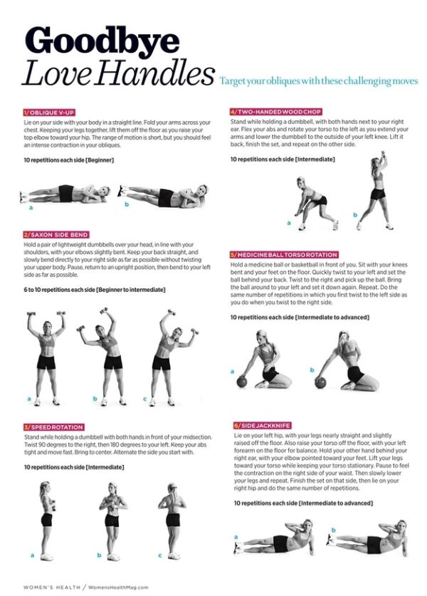 Workout Diagrams (28 pics)