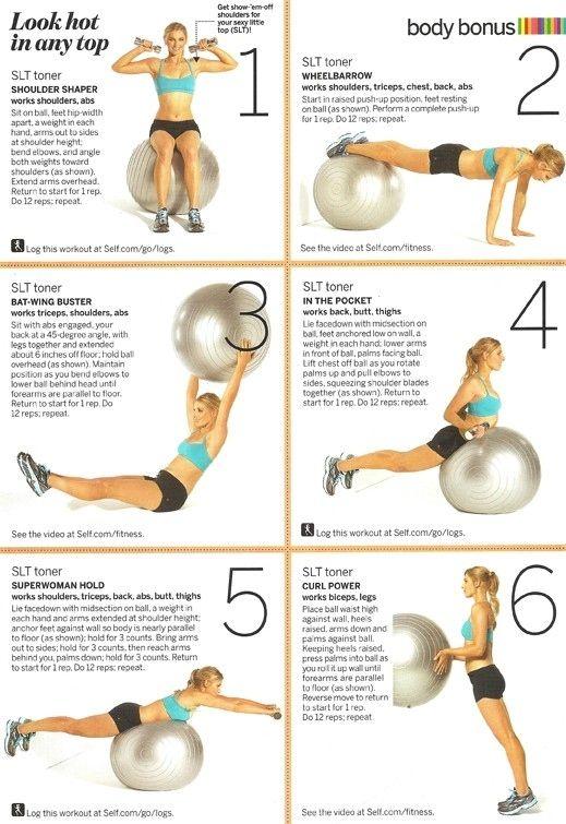 Workout Diagrams (28 pics)